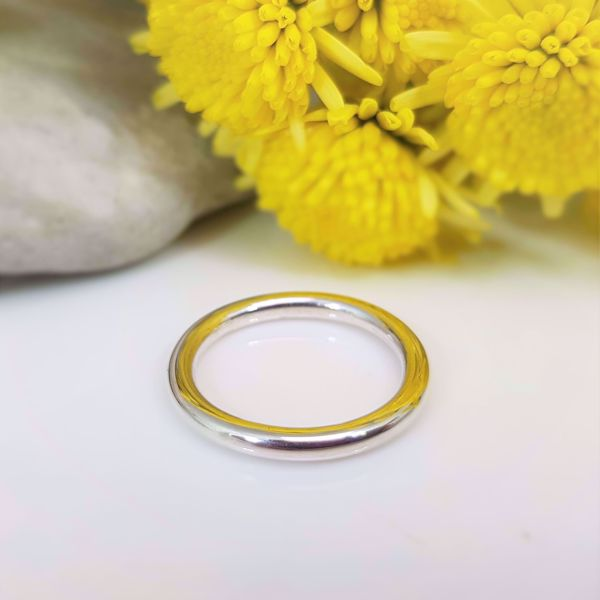 Picture of Plain round band ring